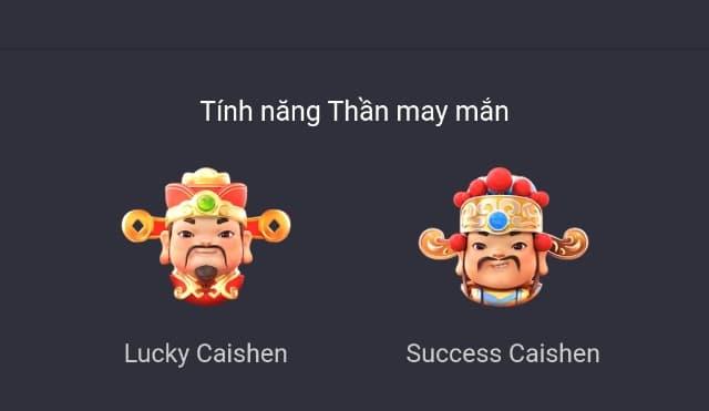 Biểu tượng Lucky Caishen, Success Caishen Fortune Gods