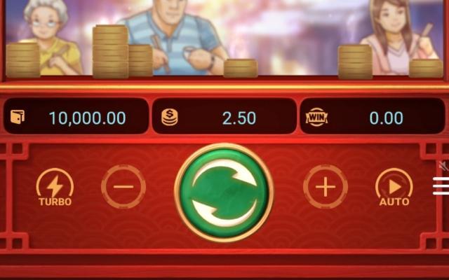 Các nút game Dim Sum Mania