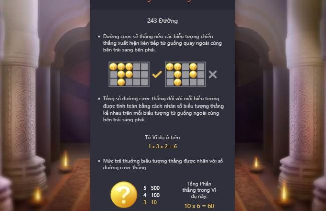 Cách tính điểm Ganesha Gold