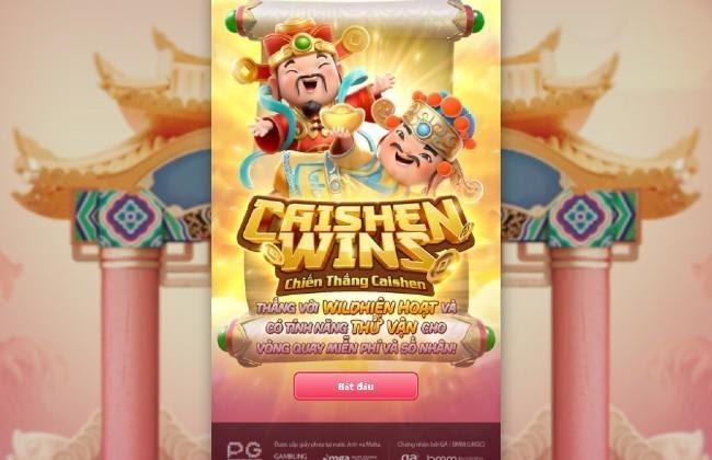 Caishen Wins - Chiến Thắng CaiShen - Game nổ hũ thần tài - tài lộc đầy người