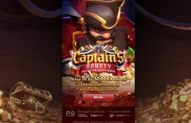 Captain's Bounty - Kho Báu Của Thuyền Trưởng - Game quay hũ tặng code khi đăng ký