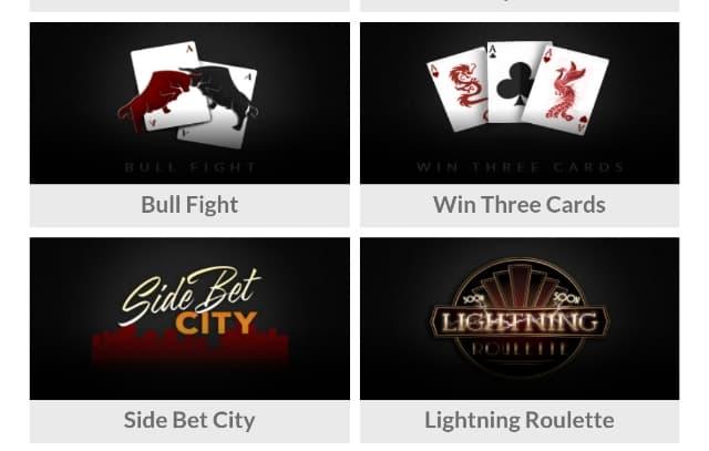 Casino trực tuyến có nhiều game bài hấp dẫn