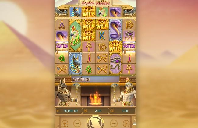 Chơi ngay Slot game Egypt's Book of Mystery