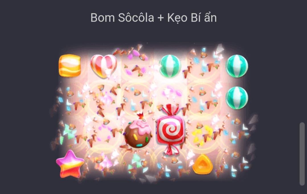 Combo bom socola kẹo bí ẩn Candy Burst