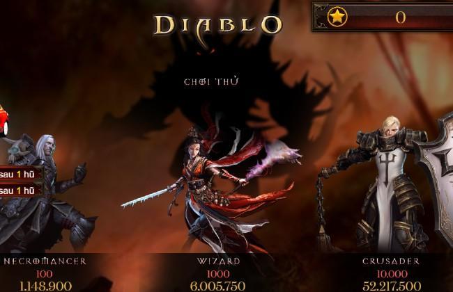 Diablo – trò quay hũ sao được yêu thích tại saoclub