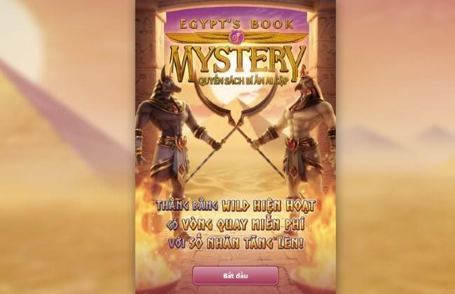 """Egypt's Book of Mystery - Quyển Sách Bí Ẩn Ai Cập - Game quay hũ đổi thưởng """"hot"""" nhất năm"""