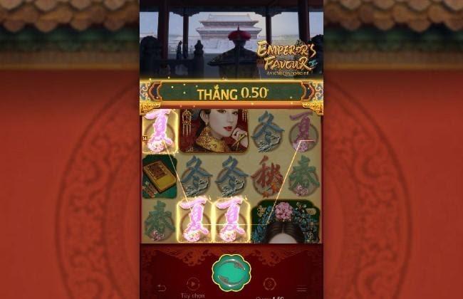 Emperor's Favour – Ân Sủng Của Hoàng Đế - Trò chơi nổ hũ cung đấu hấp dẫn