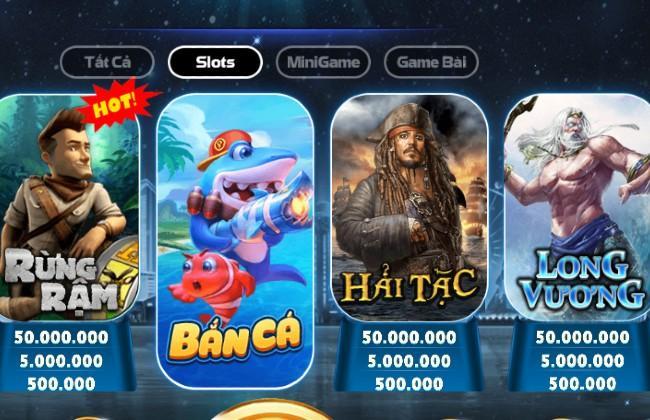 Những trò chơi slot đổi thưởng vui nhộn tại big club