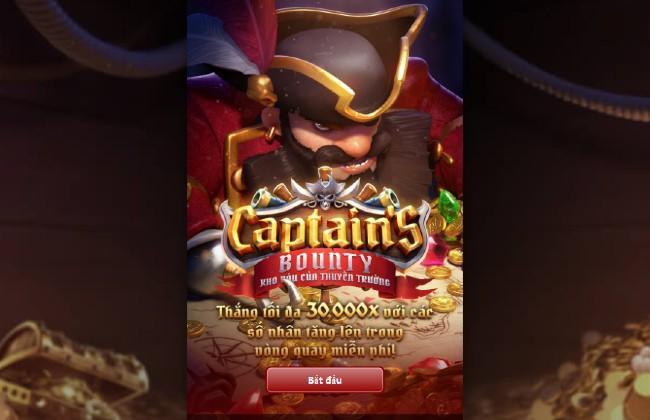 Game slot Captain's Bounty