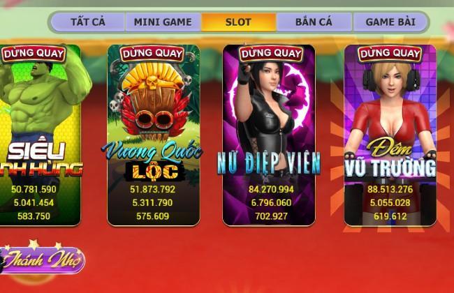Những trò slot với giao diện mới lạ