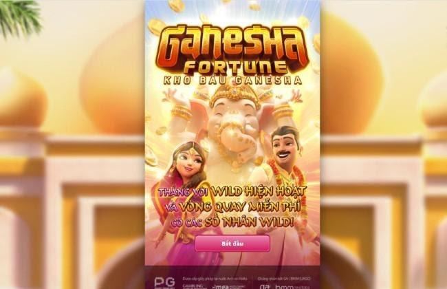 Ganesha Fortune - Kho Báu Ganesha - Game quay nổ hũ giải cứu mỹ nhân