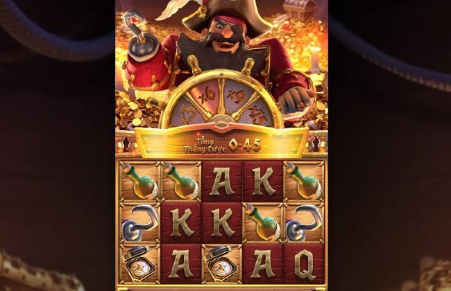 Giao diện chơi Game slot Captain's Bounty
