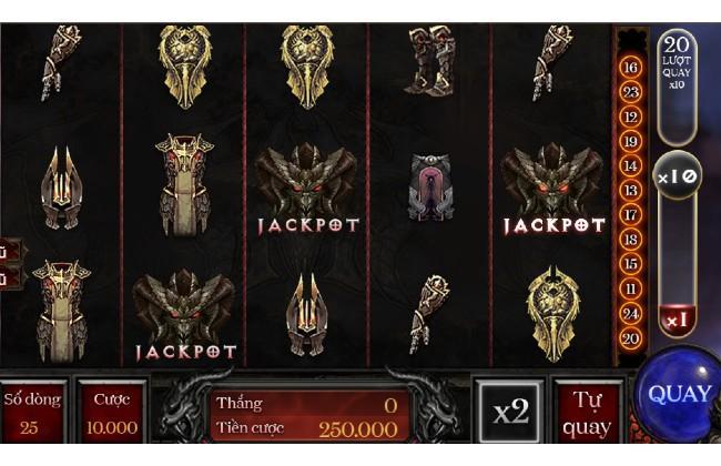 Giao diện chơi game đầy bí ẩn của Diablo tại Sao Club