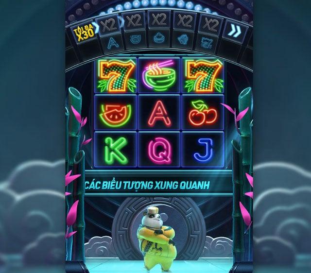 giao diện game Hip hop Panda