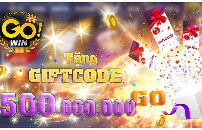 Giftcode Gowin dành cho người chơi của mình