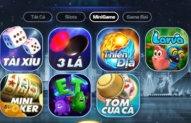 Kho trò chơi đa dạng trong mini game của bigclub