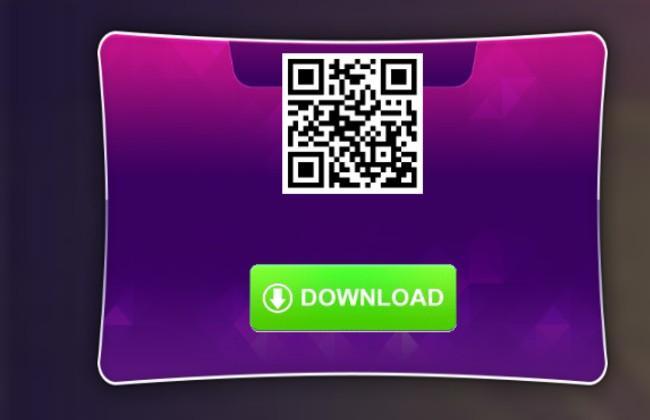 Mã QR để giúp người chơi dễ dàng tải m88 trên máy tính