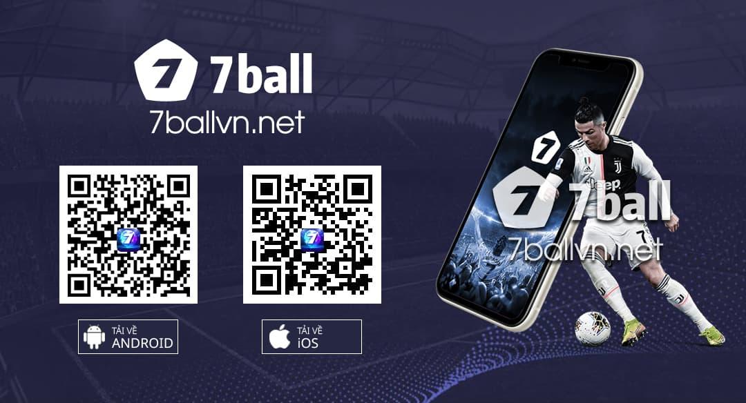 Mã QR Ứng dụng 7ball Android IOS