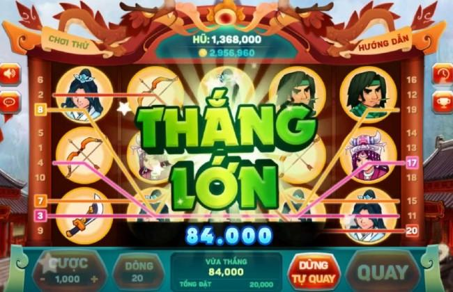 Nổ hũ thắng lớn khi chơi game Slot trên Go win.