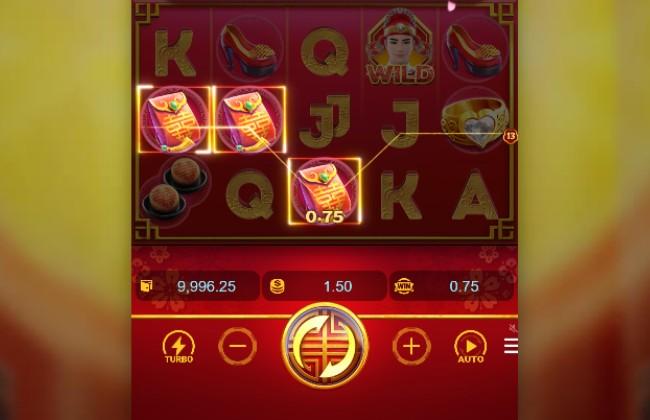 nút chức năng Double Fortune