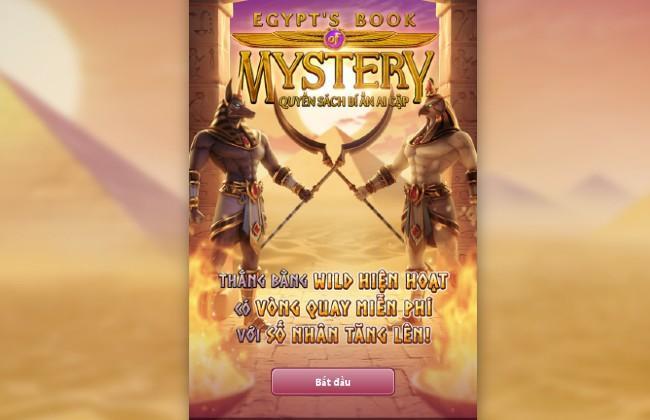 Slot game Egypt's Book of Mystery - Quyển Sách Bí Ẩn Ai Cập