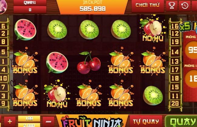Trò chơi Slot hoa quả siêu hấp dẫn của g9.club