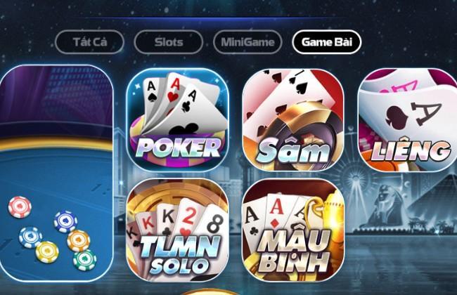 Những trò chơi game bài hấp dẫn của bigclub