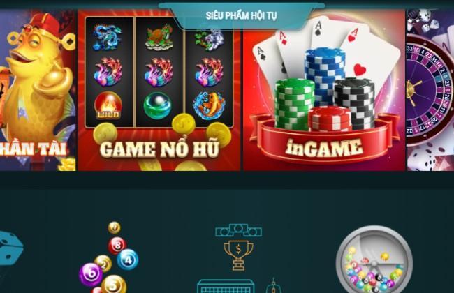 Các trò chơi đa dạng có ở lucky88