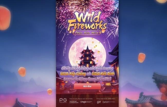 Wild Fireworks - Pháo Hoa Hoang Dã - Game slot đổi thưởng đẳng cấp