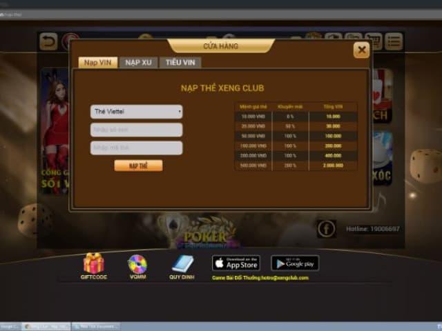 Tải Xeng clup - cổng game đánh bài rút tiền an toàn và nhanh chóng