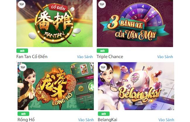 Các trò chơi Casino tại Fun88