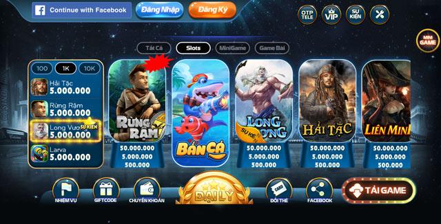 Hàng loạt slots game đang chờ bạn trải nghiệm tại B79