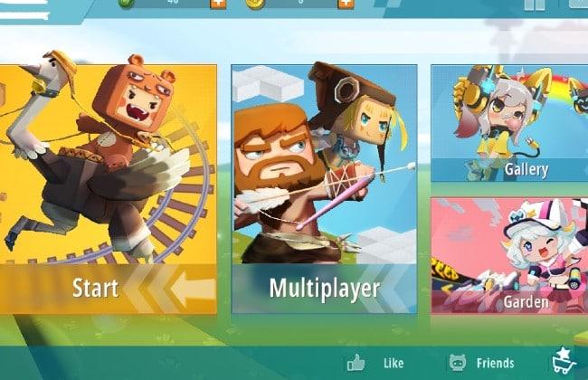 Đồ họa bắt mắt và thu hút người chơi của Mini World