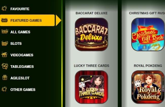Những trò chơi có trong v9 bet