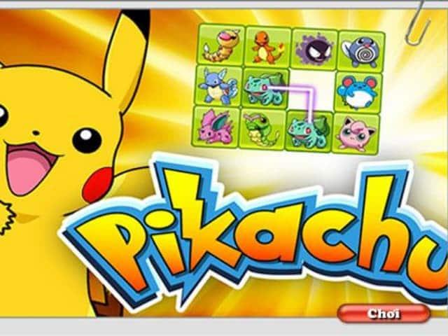Hướng dẫn link tải trò chơi pikachu