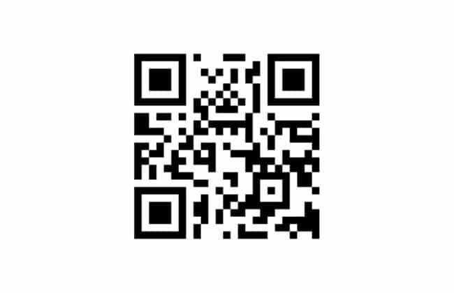 Mã QR tải Debet của IOS