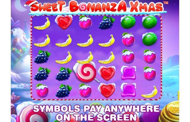 Quay hũ UCW88 Sweet Bonaza Xmass