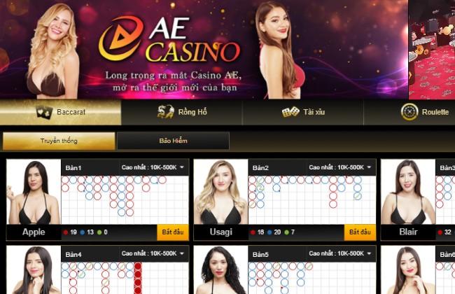 Sảnh game Viva Club có trong V9bet Casino