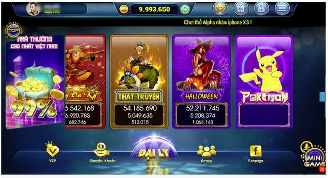 Chơi game cực hay với các slot game hấp dẫn tại Bomtan