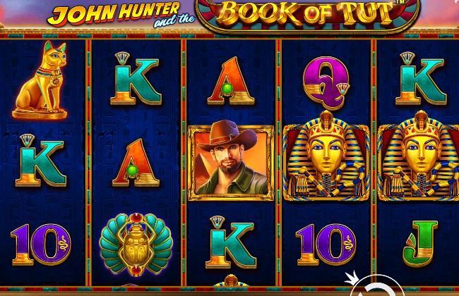 Quay hũ UCW88 John Hunter and the Book of Tut