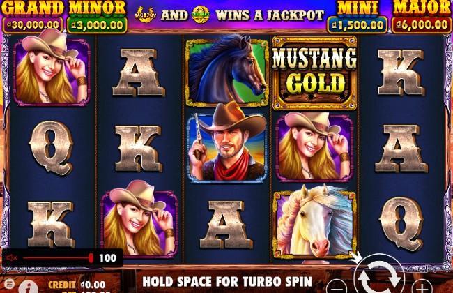 Quay hũ UCW88 Mustang Gold