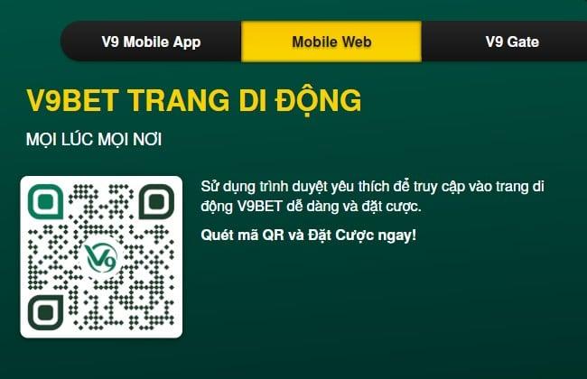 Tải app v9bet về điện thoại nhanh chóng