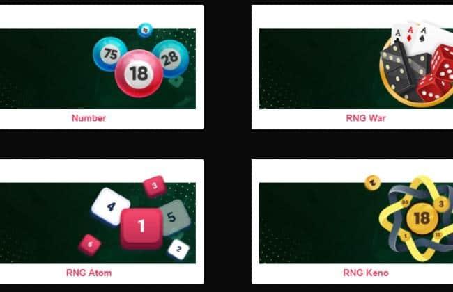 Các trò chơi hấp dẫn có trong Xổ số ở UCW88