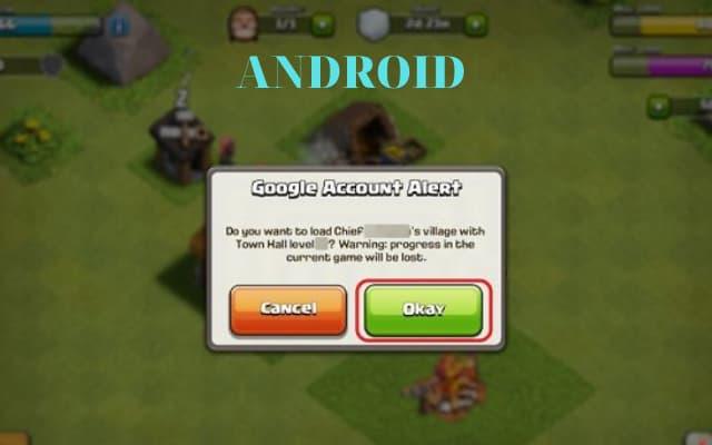 Bấm chọn OKAY android