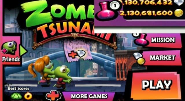Cách hack game zombie tsunami