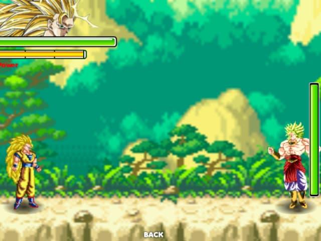 Chế độ đối kháng (2 người chơi) trong phiên bản game 7 viên ngọc rồng 2.9