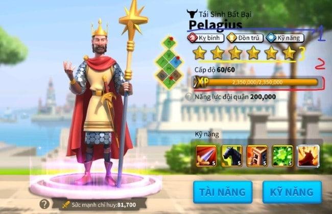 Chỉ huy tiêu biểu tại Rise of Kingdoms