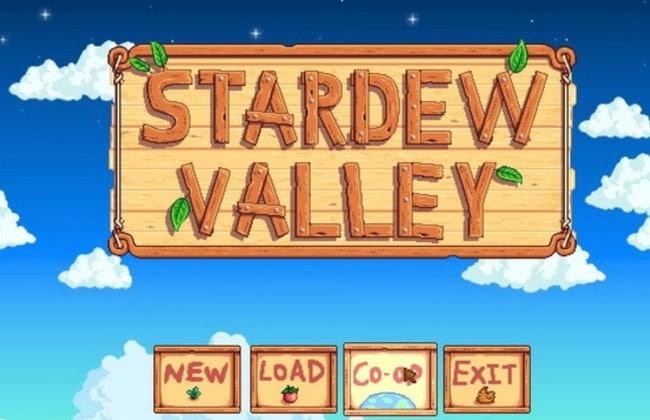 Chọn chế độ Stardew Valley Coop