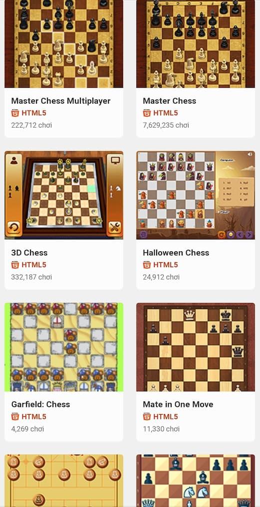 Game cờ vua 2 người tại y8