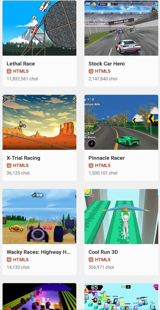 Game đua xe 2 người tại y8